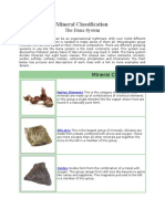 Mineral Classification