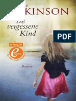 Atkinson, Kate - Das Vergessene Kind