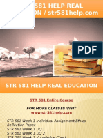STR 581 HELP Real Education - Str581help.com