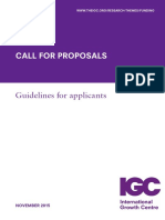 IGC Guidelines for Applicants