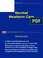 Normal Newborn Care