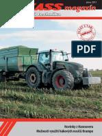 PEKASS magazín (2011), zima, zemědělská technika