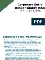 Corporate Social Responsibility PT Ultra
