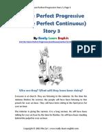 Future Perfect Progressive Story 3