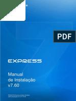 Manual de in Stala Cao Express 760