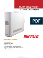 LinkStation LS-LGL Qsg