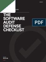 1E Audit Defense Checklist