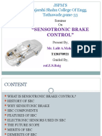 Mech Sensotronic Brake Control Ppt FINAL
