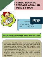 Rencana Asuhan bayi 2-6 hari