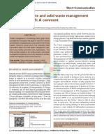 Biomedical Waste Sanitary Waste Draft Rules 2015