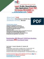 2016 New Microsoft 70-494 PDF 89q Offered