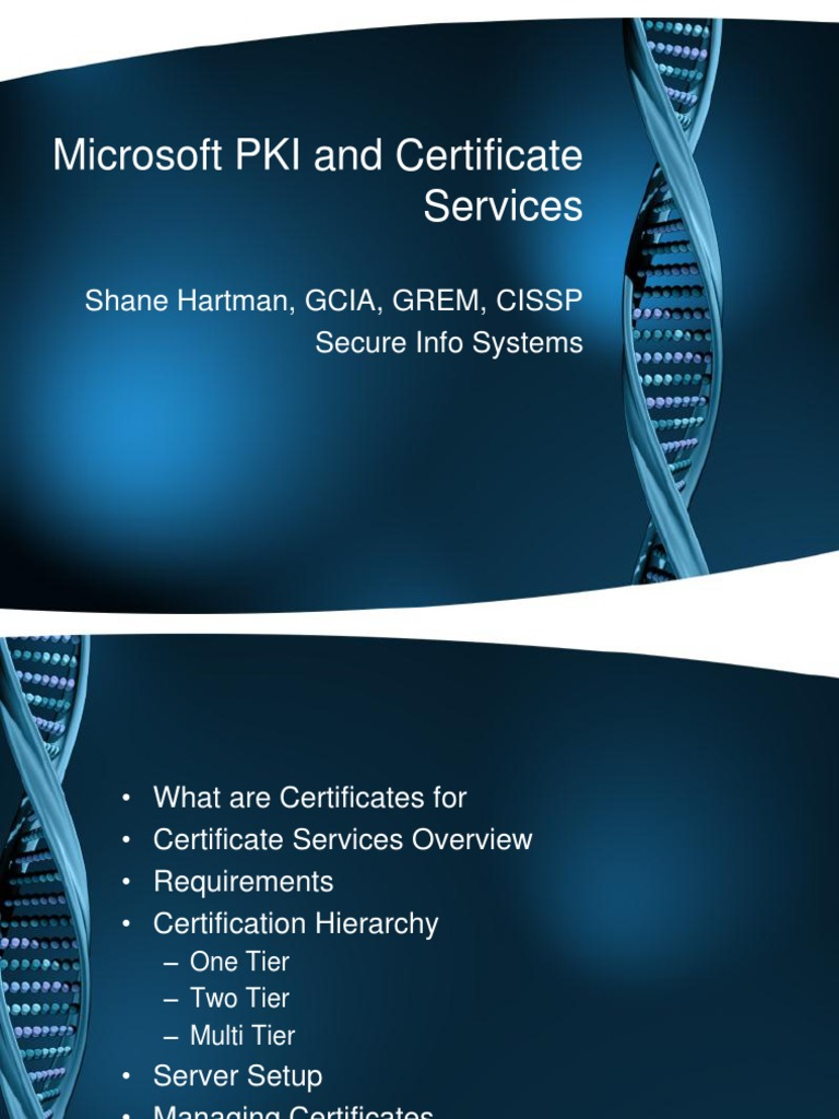 Microsoft pki and certificate services public key certificate microsoft pki and certificate services public key certificate web server xflitez Image collections