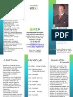 Raul Teixeira Programa 22 de Maio