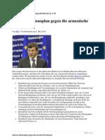Ankaras Aktionsplan gegen die armenische Diaspora