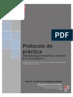 Protocolo de Practica Estomatologia II - Modificado 2010 1ra Parte