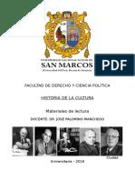 LECTURAS Historia de La CUltura