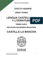 Lengua 1 Eso Trama Castilla-la Mancha