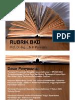 Rubrik BKD
