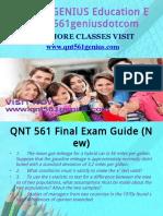 QNT 561 GENIUS Education export/qnt561geniusdotcom