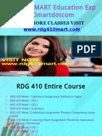 RDG 410 MART Education Expert/rdg410martdotcom