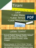 Novel Tirani