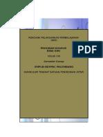RPP PROGRAM BINA KHUSUS SMPLB VIII Semester Genap