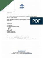 IRISH TV selects Tata Communications as its global technology partner and OTT service provider [Company Update]