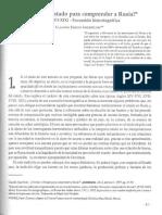 Ingerflom Claudio Olvidar el estado para comprender a Rusia.pdf