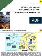 Inisiatif PLN Dalam Pengembangan Dan Implementasi Smart Grid 2016 Final