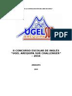 Concurso de Inglés 2016