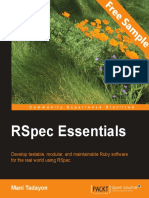 Rspec Essentials - Sample Chapter