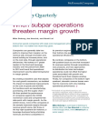 When Subpar Operations Threaten Margin Growth