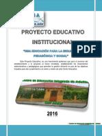 PROYECTO EDUCATIVO INSTITUCIONAL CEIA SAN JAVIER