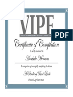 vipe certificate a stroke of bad luck anabellemerrera  1