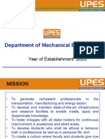 Presentation of Mechanical Department Revised by Jp Gupta