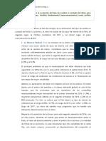 AAP. Expectativas Tipo de Cambio. Financiación Internacional