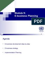 Ebusiness Development Plan