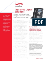 Avaya 9508 Digital Deskphone Fact Sheet Final