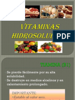 Vitaminas-Hidrosolubles