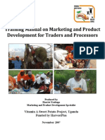 Harvestplus Mpd Training Manual for Traders (1)