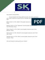 parent letter 2016