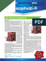 Isophob K Infomappe