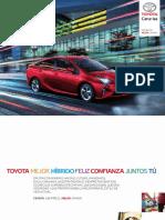 Catalogo Toyota Prius