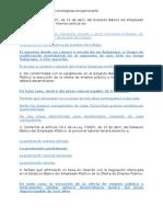 Ley Estatuto Básico Del Empleado Público Ley 72007, De 12 de Abril