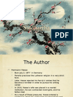 siddhartha the book ppt