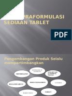 2-Studi Praformulasi Sediaan Tablet