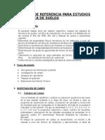 Terminos ESTUDIO SUELOScerro Baul