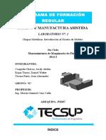 Laboratorio 1 Diseño y Manufactura Asistida