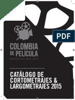 Catálogo Colombia de Pelicula 2015