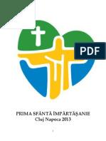 Brosura Prima Sf. Impartasanie-2013